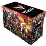 Comic Book Cardboard Storage Box with Valiant Universe Artwork, holds 150-175 Comics